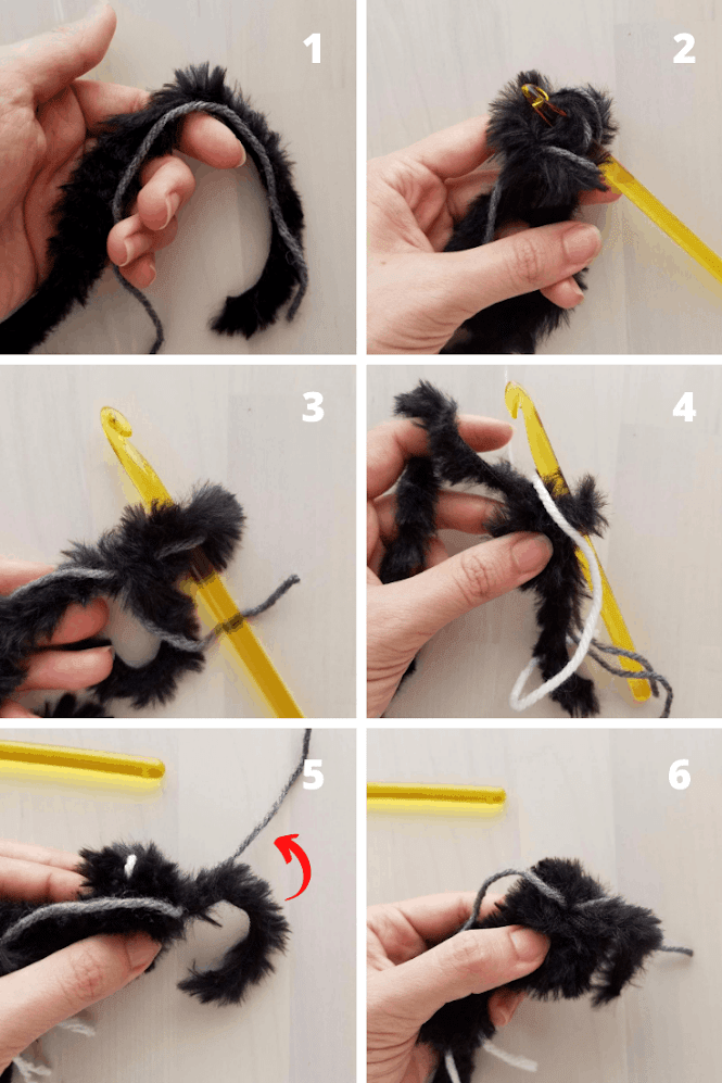 Tips for Amigurumi using Faux Fur Yarn
