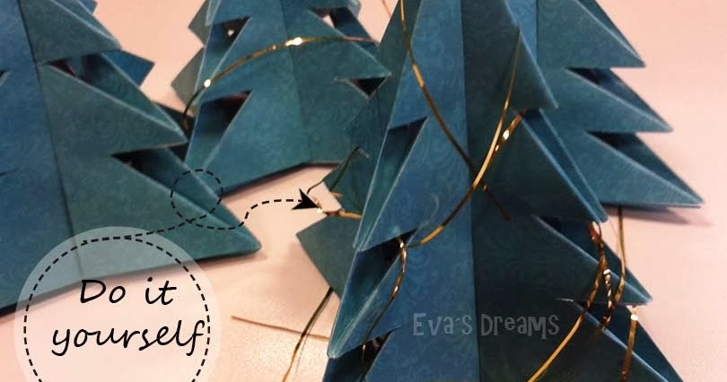 eva s dreams do it yourself weihnachts deko tannenbaum. Black Bedroom Furniture Sets. Home Design Ideas