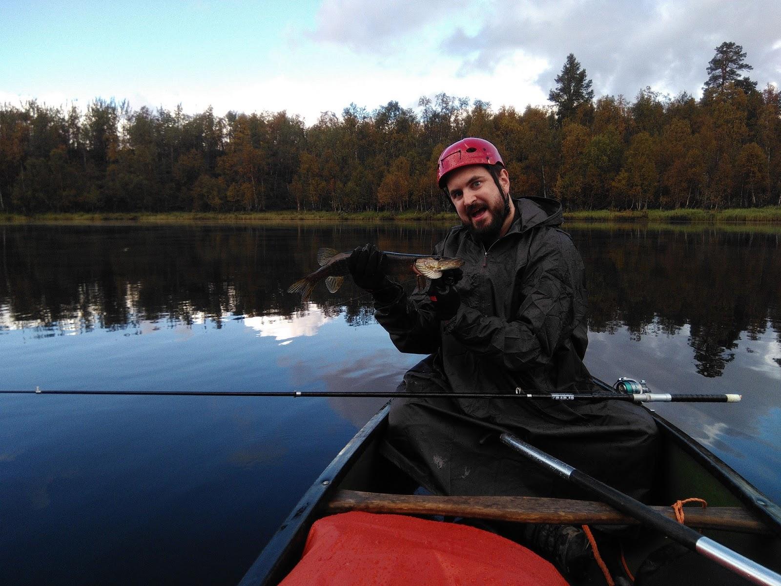 Récit : Canoé et pêche en Laponie Finlandande sur la rivière Ivalojoki IMG_20160821_155724