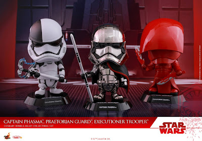 Star Wars: The Last Jedi Cosbaby Vinyl Figures by Hot Toys