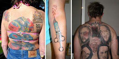 As tatuagens mais feias