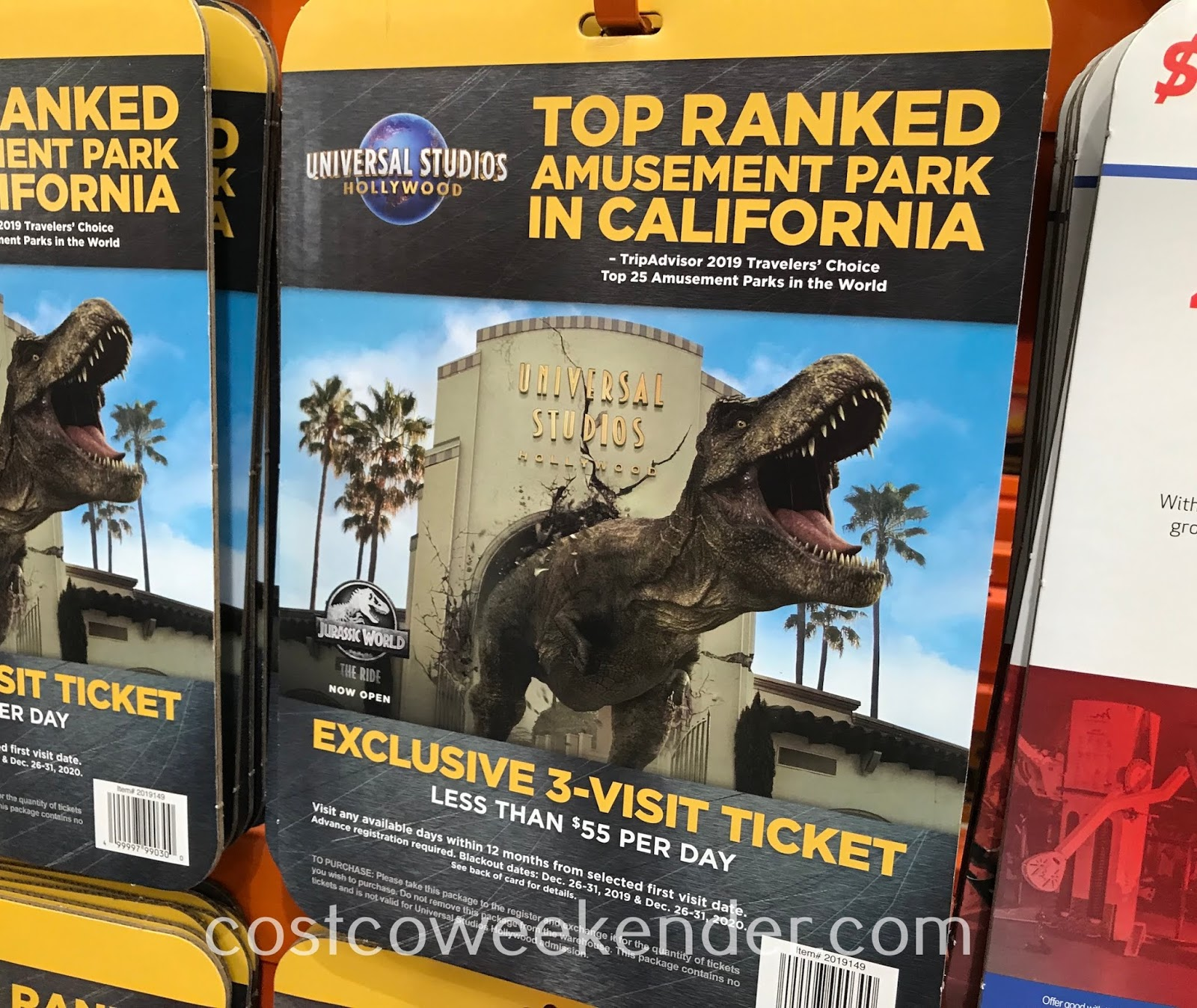 Enjoy movies and rides at Universal Studios Hollywood