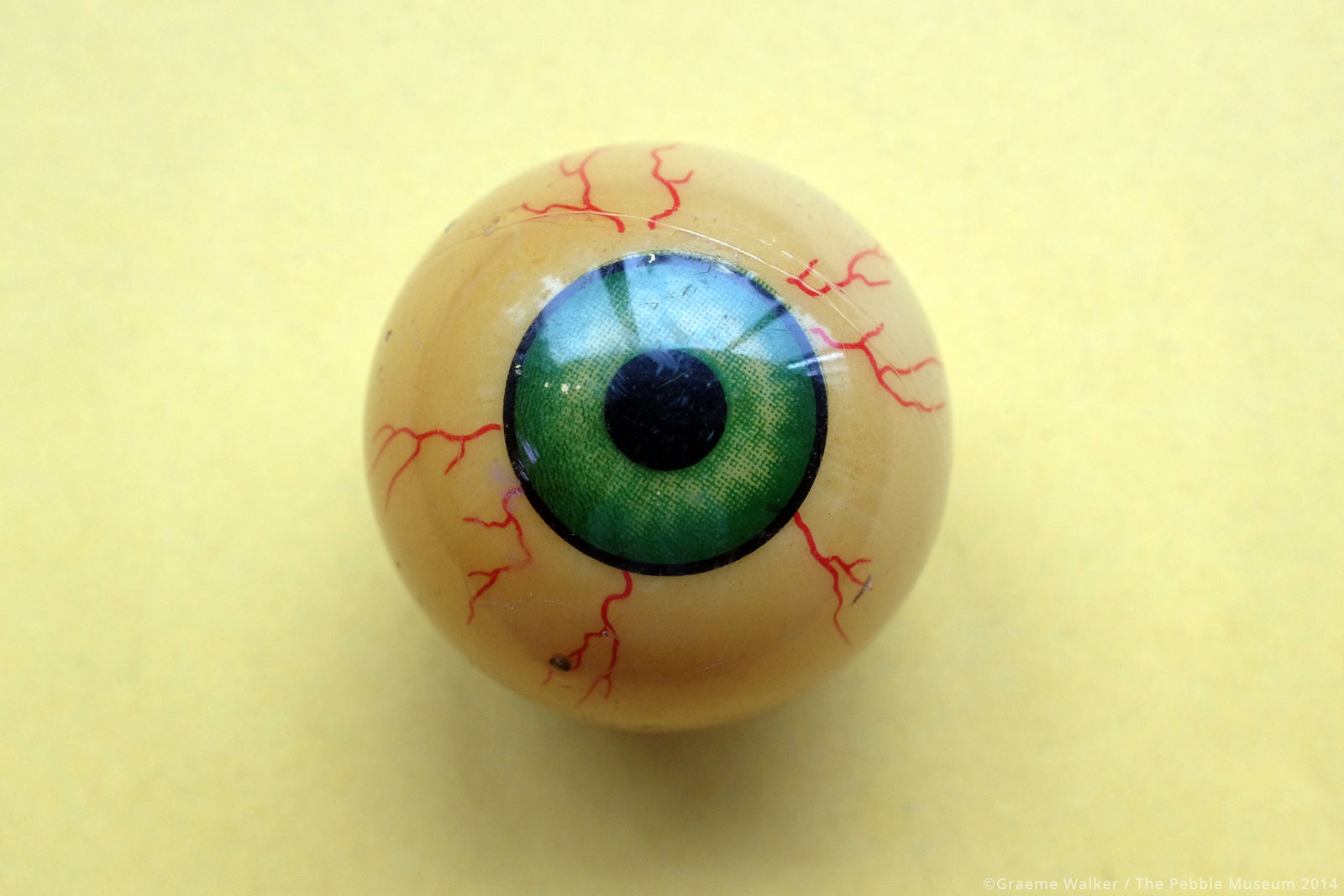 Toy Eye © Graeme Walker / The Pebble Museum 2019