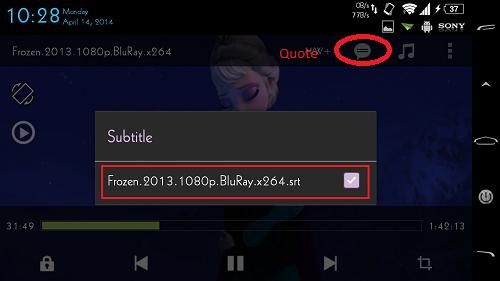 Cara Menampilkan Subtitle Film di Android