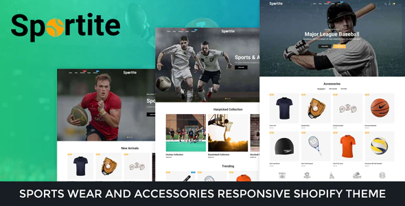 Sportswear And Accessories Responsive Shopify Theme
