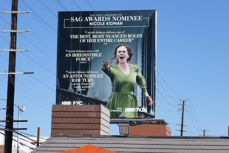 Nicole Kidman Undoing SAG Awards nominee billboard