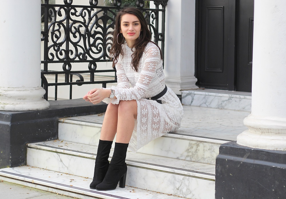 spring style monochrome peexo fashion blogger