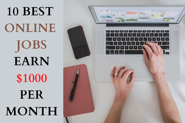 10 Best Online Jobs [No Investment]:From Home