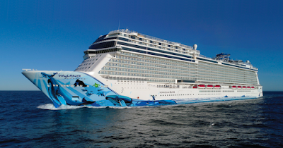 Norwegian Cruise Line's New Norwegian Bliss Showcases in New York City.