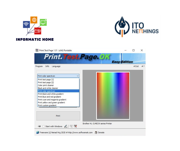 Print.Test.Page.OK - Teste a sua impressora neste simples Software!!!