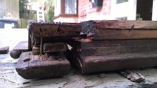 Broken Wooden Frame