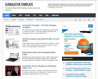 Jurnalistik template