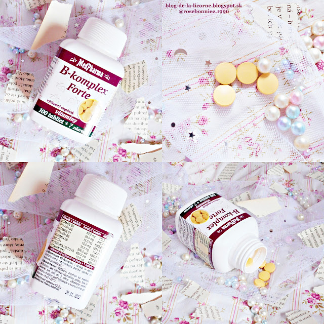Benu Lekáreň MedPharma B-komplex Forte recenzia Blog de la Licorne