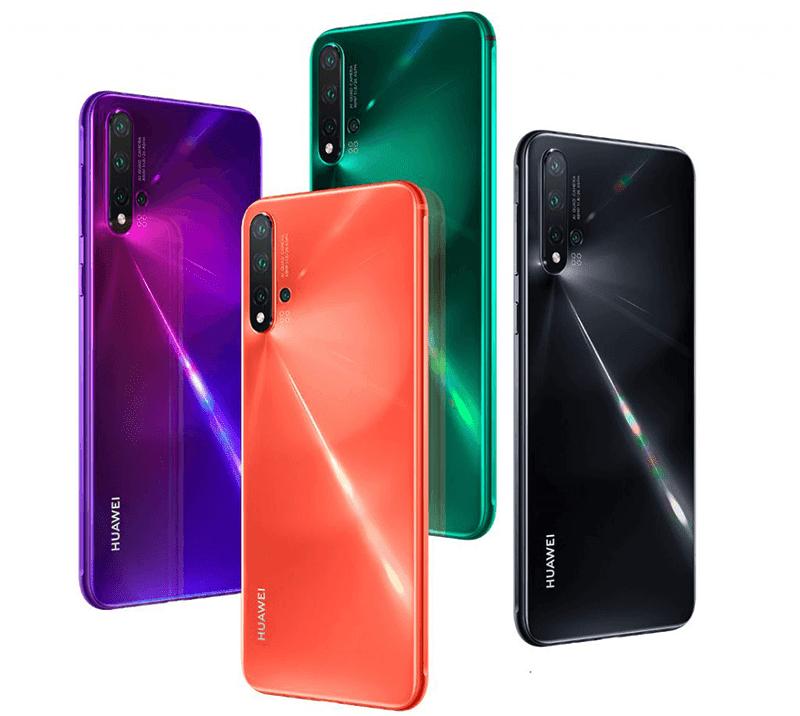 Nova 5 Pro different colors