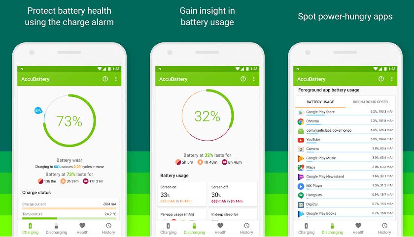 Accu Battery aplikasi penghemat baterai android
