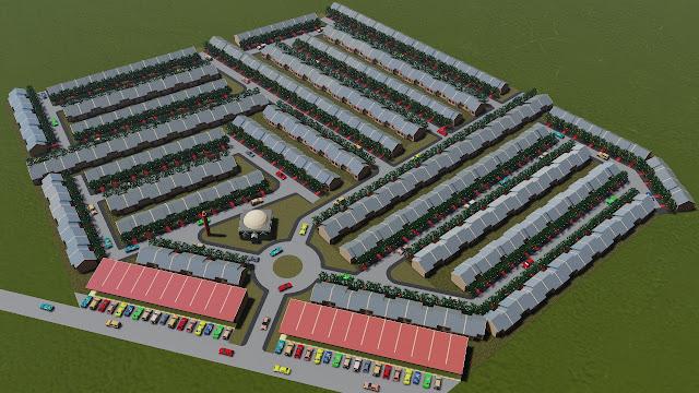 desain perumahan subsidi