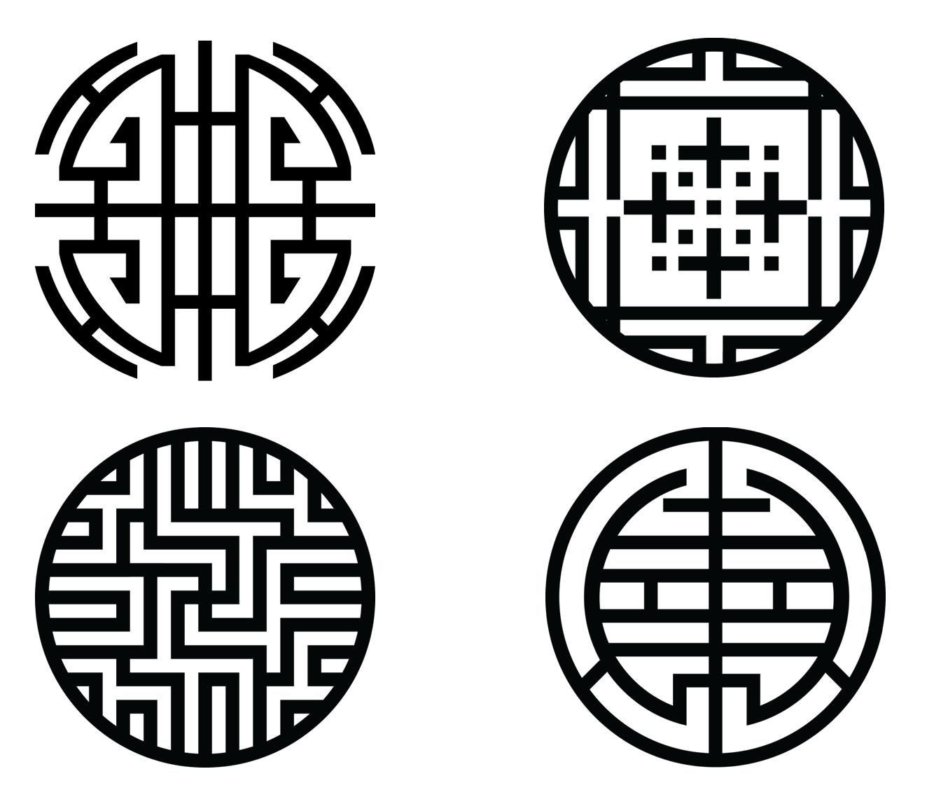 korean symbols Gallery