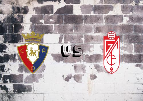 Osasuna vs Granada  Resumen