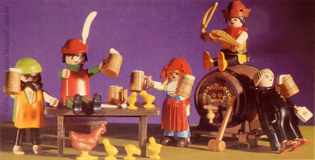 Playmobil 3627 El banquete del ladrón The Robber's feast
