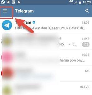 Cara Menghapus Kontak di Telegram