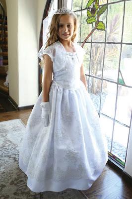 Vestidos de primera comunion sencillos