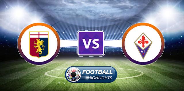 Genoa vs Fiorentina – Highlights