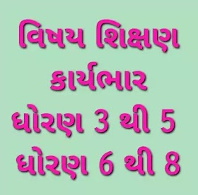 Primary School Teacher Vishay Karybhar Paripatr