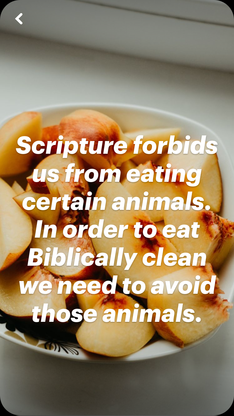 Scripture forbids us from eating unclean animals - easy explanation of Biblically clean | Land of Honey
