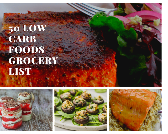 50 Low Carb Foods Grocery List
