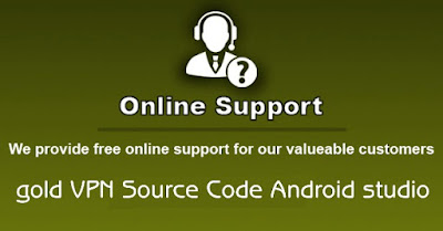 Gold VPN NETWORK Source code Android Studio - 6