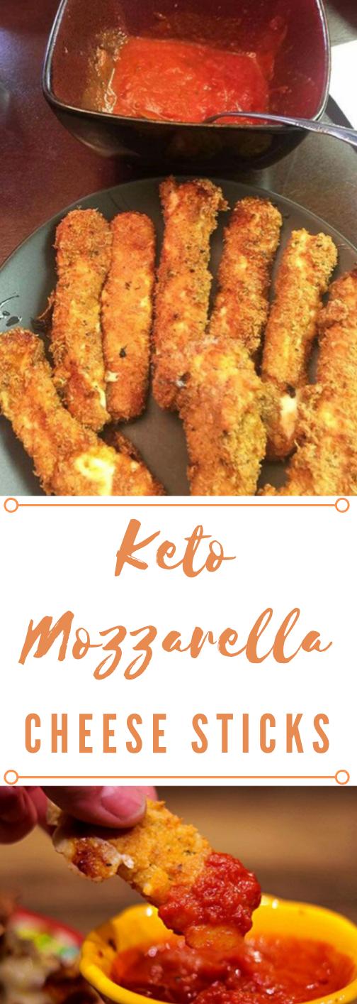 Keto Mozzarella Sticks #keto #diet #healthydiet #recipes #mozzarella
