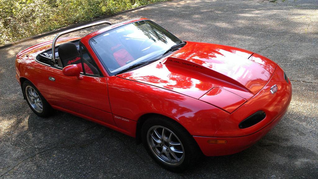 Daily Turismo: GM 4 3 V6 Powaaaaa: 1990 Mazda MX-5 Miata