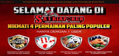 Satriapoker.Com Situs Agen Judi Poker Online Uang asli Indonesia