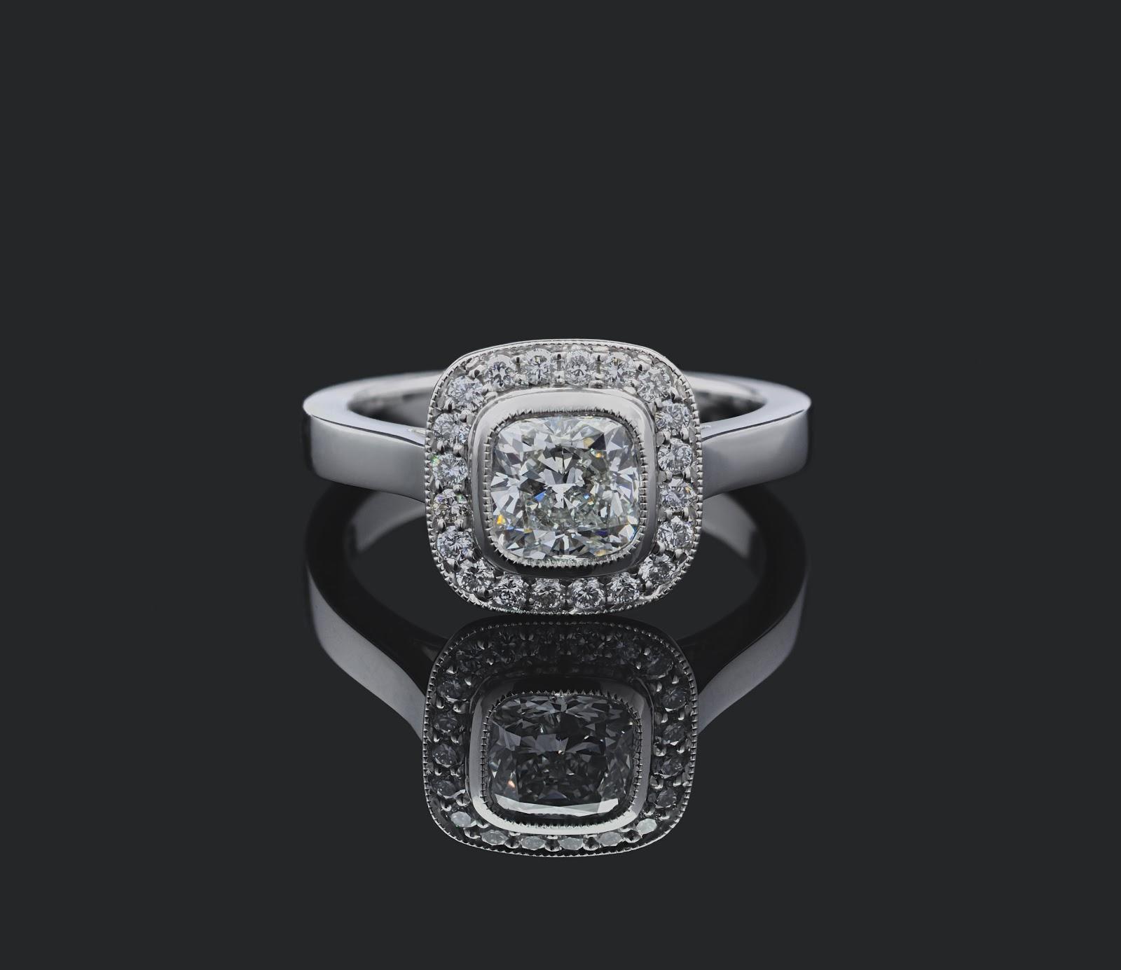 6c21f543aebb Tiffany Legacy Style Engagement Ring by Daniel Prince of London