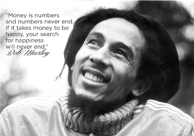 Inspirational Bob Marley Quotes about money