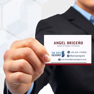 Tarjeta de Presentacion Angel Briceno