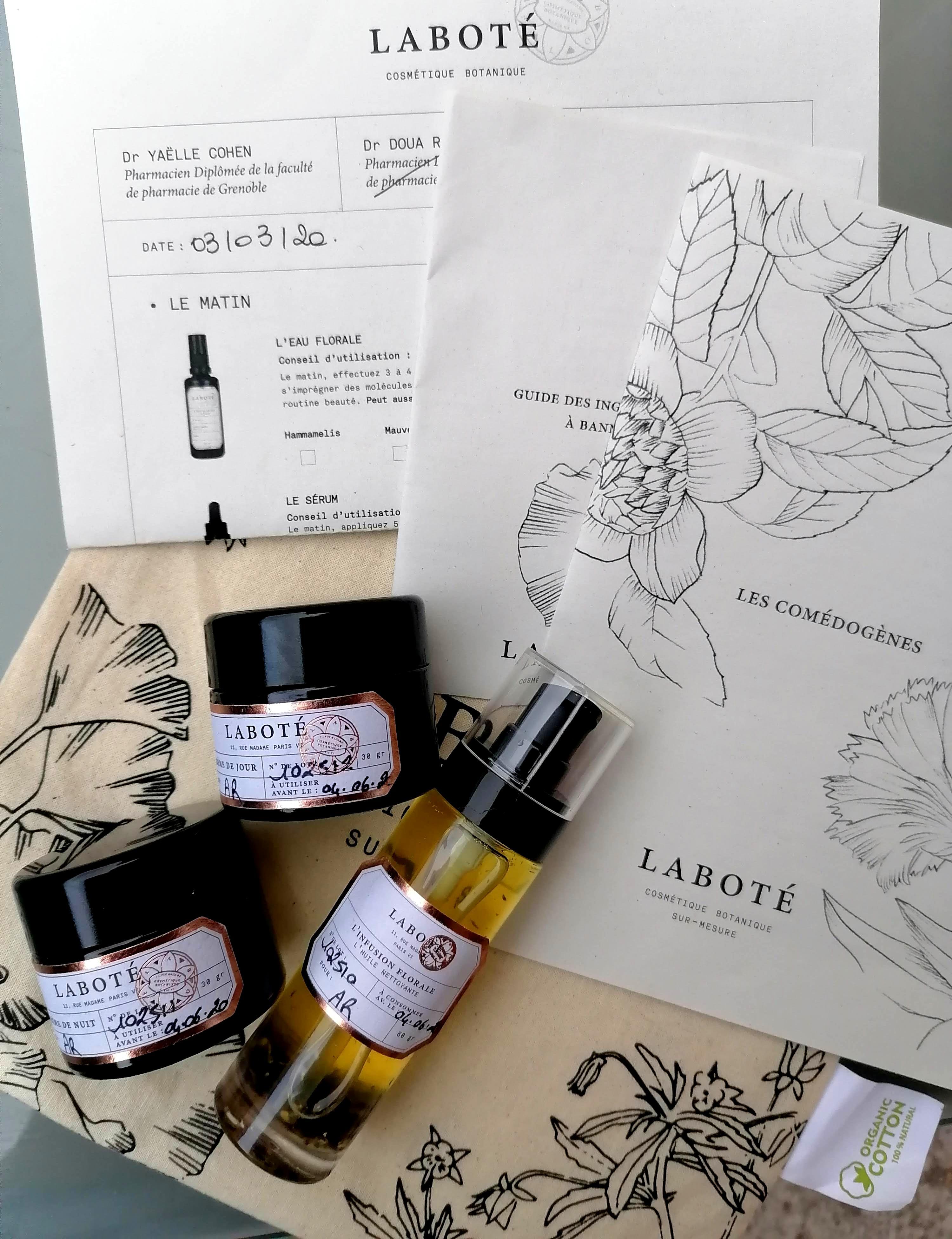 carte cadeau Laboté