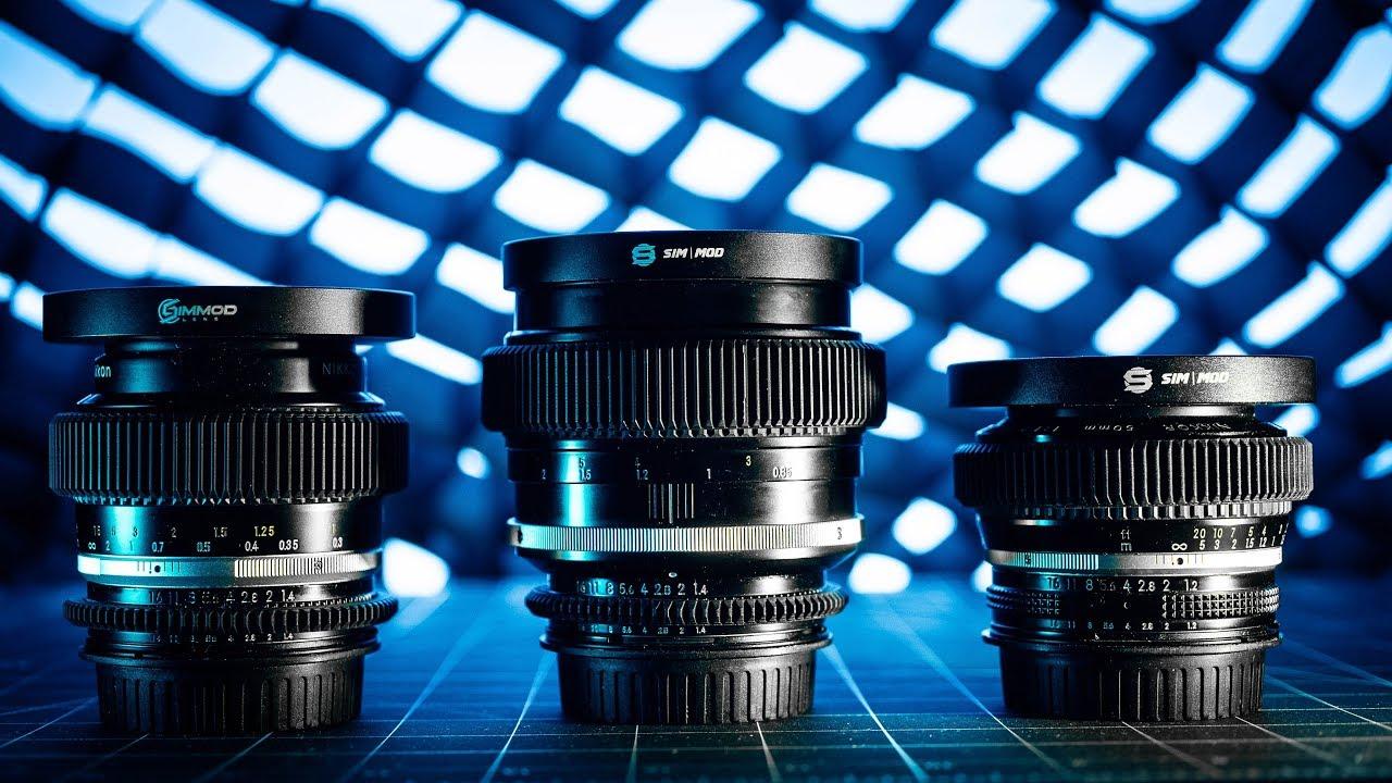 Vintage Lenses for VIDEO // Transform Any SLR Lenses Into A Cine Lens