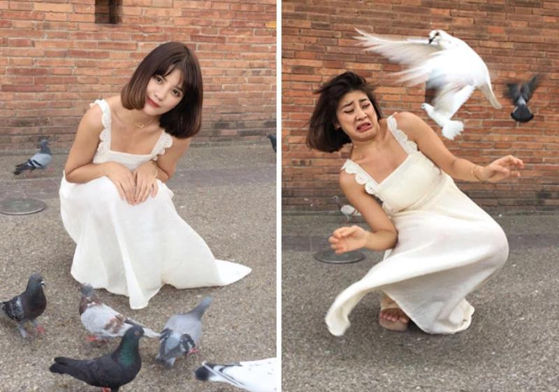 Hotgirl Thái nổi tiếng trên Instagram và loạt ảnh sau ống kính khiến người xem xách dép chạy dài