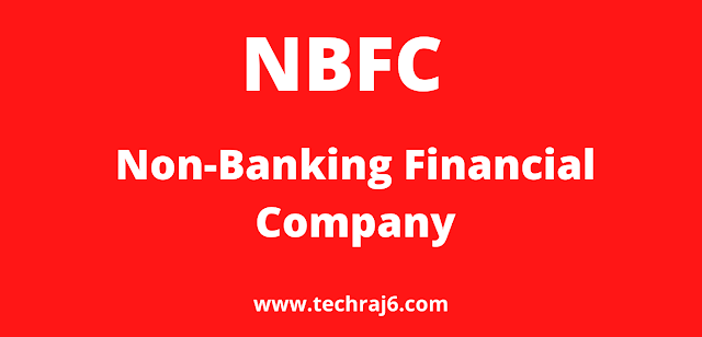 NBFC full form, What is the full form of NBFC