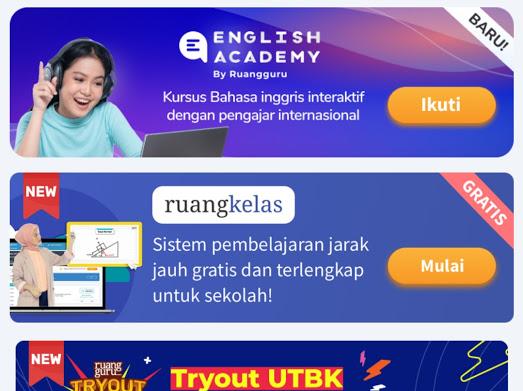 layanan belajar online terbaik ruangguru