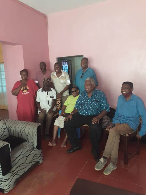 Teddy Kalanda Harrison family in Rabai