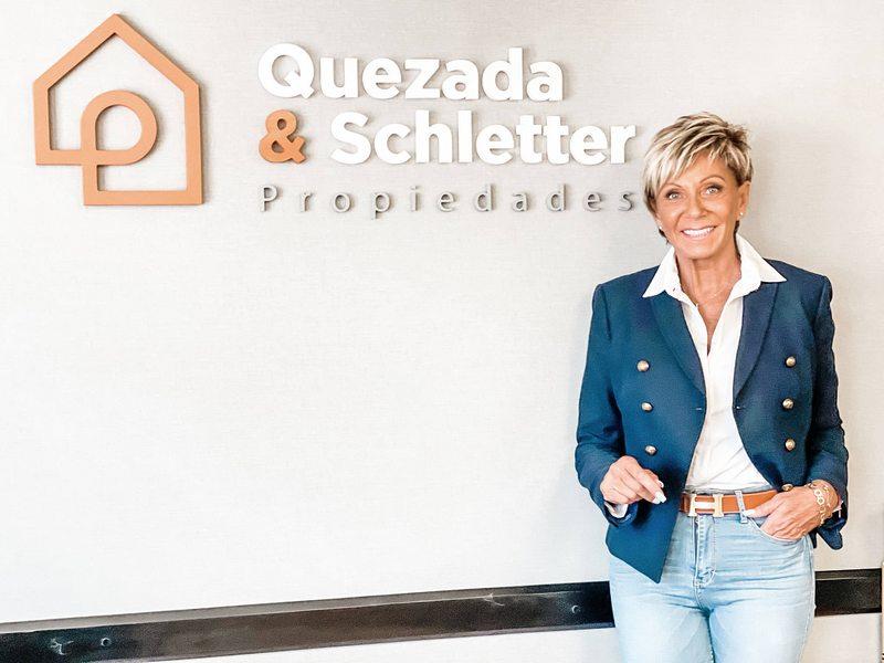Raquel Argandoña ahora es corredora de propiedades