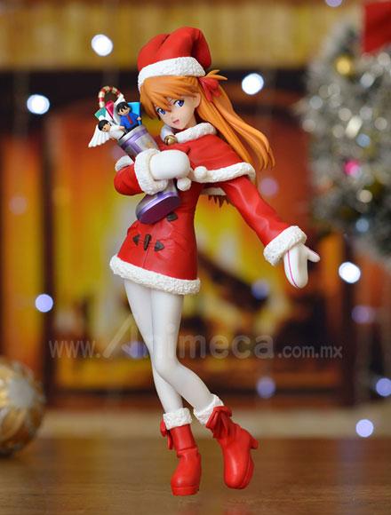 Asuka Langley Soryu Premium Christmas Figure Neon Genesis Evangelion