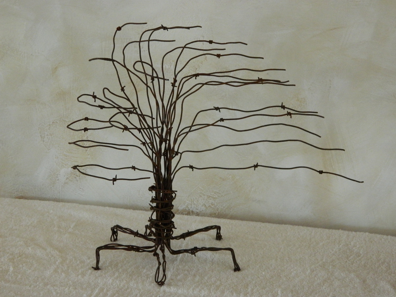 Dishfunctional Designs Beautiful Upcycled Barbed Wire