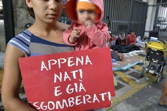"""DEMOS: """"Fermare gli sgomberi durante la crisi di governo"""""""
