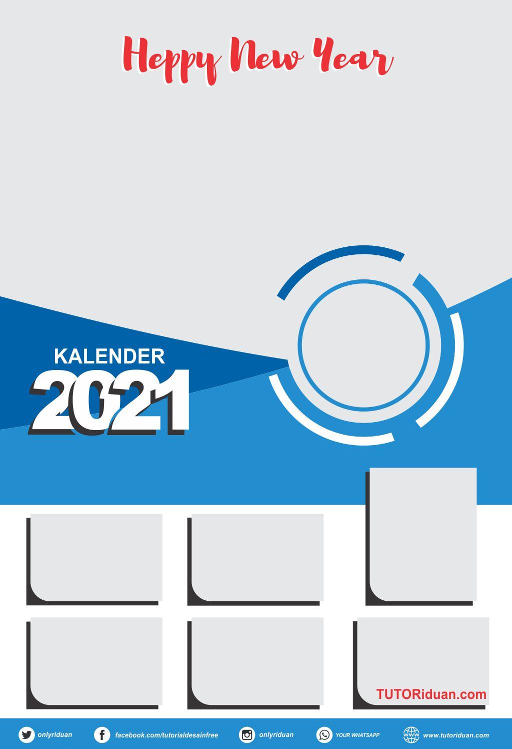 Contoh Kalender 2021 Keren