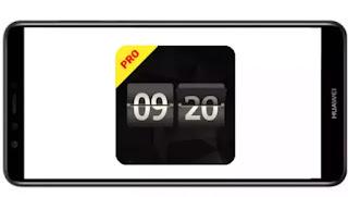 تنزيل برنامج Fliqlo Flip Clock Pro mod ad free مدفوع مهكر بدون اعلانات بأخر اصدار من ميديا فاير