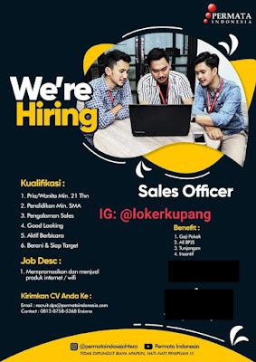 owongan Kerja Permata Indonesia Sebagai Sales Officer