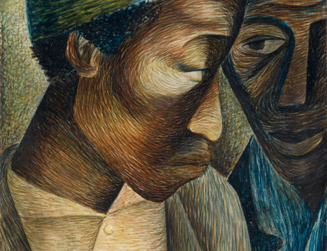 Painting by Elizabeth Catlett